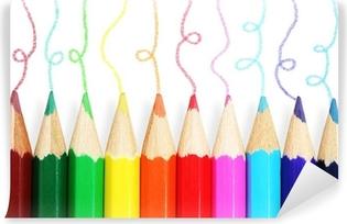 matite colorate  Quadro su Tela Matite colorate • Pixers® - Viviamo per il cambiamento