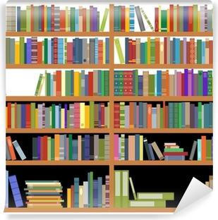 Carte da parati pile di libri antichi pixers viviamo for Carta da parati libreria