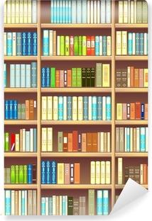 Carte da parati editori pixers viviamo per il cambiamento for Carta da parati libreria