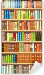 Carte da parati libri pixers viviamo per il cambiamento for Carta parati vinile