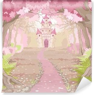 Carta da Parati in Vinile Magic Castle Paesaggio