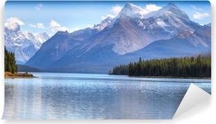 Carta da Parati in Vinile Maligne Lake