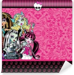 Carta da Parati in Vinile Monster High