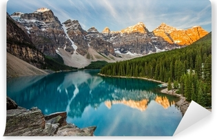 Carta da Parati in Vinile Moraine Lake