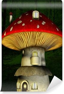 Carta da Parati in Vinile Mushroom fata casa