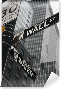 Carta da Parati in Vinile New York - Wall Street