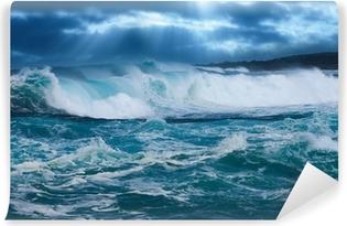 Carta da Parati in Vinile Ocean wave