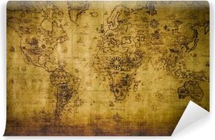 Carta da Parati in Vinile old map
