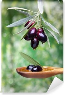 Carta da Parati in Vinile Olio di oliva