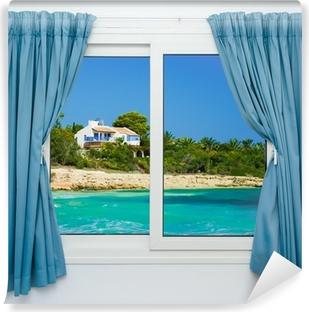Carte da parati finestra tende pixers viviamo per il for Aprire le planimetrie con una vista