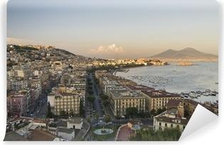 Carta da Parati in Vinile Panorama di Napoli