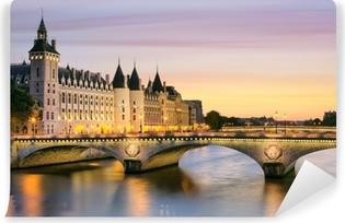 Carta da Parati in Vinile Parigi Concierge