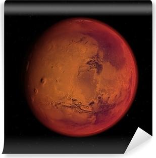 Carta da Parati in Vinile Pianeta Marte