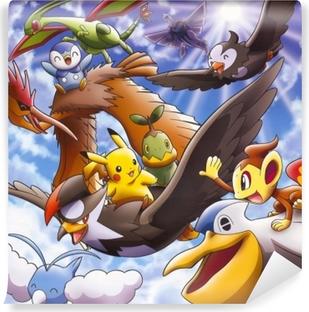 Carta da Parati in Vinile Pokémon