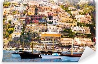 Carta da Parati in Vinile Positano, Costiera Amalfitana