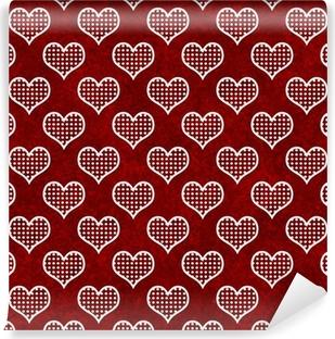 Carta Da Parati Seamless Pattern Con Il Cuore San Valentino Sfondo