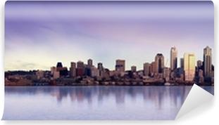 Carta da Parati in Vinile Seattle panorama
