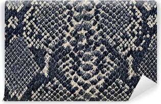 Carta da Parati in Vinile Serpente sfondo texture della pelle