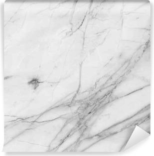 Carta da Parati in Vinile Sfondo bianco struttura della parete di marmo