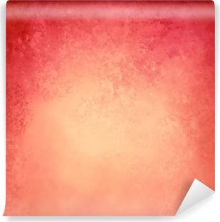 Poster Sfondo Rosso Oro Rosa E Arancio Con Bordo Superiore Scuro E