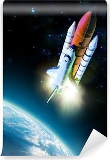 Carta da Parati in Vinile Space shuttle