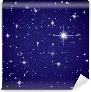 Carta da Parati in Vinile Spazio vista stella cielo
