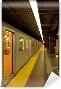 Carta da Parati in Vinile Stazione della metropolitana