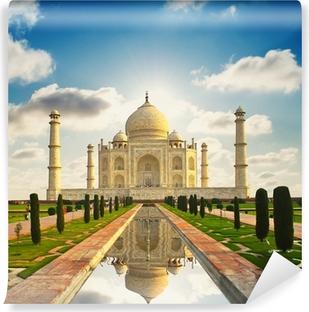 Carta da Parati in Vinile Taj Mahal in India