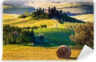 Carta da Parati in Vinile Toscana del paesaggio