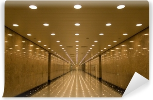 Carta da Parati in Vinile Tunnel di luci