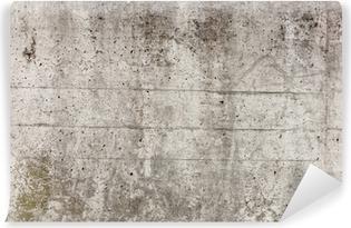 Carta da Parati in Vinile Un muro di cemento grigio per lo sfondo