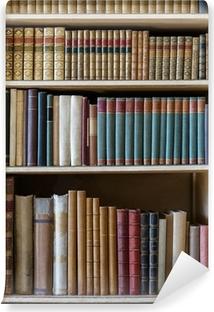 Carta da Parati in Vinile Vecchi libri