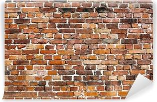 Carte da parati brick pixers viviamo per il cambiamento for Carta da parati muro di mattoni