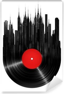 Carta da Parati in Vinile Vinyl città