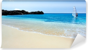 Carta da Parati in Vinile Windsurf Tropical