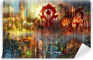 Carta da Parati in Vinile World of Warcraft