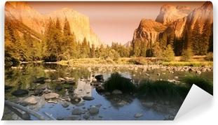 Carta da Parati in Vinile Yosemite national park