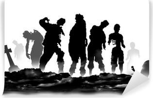 Carta da Parati in Vinile Zombies