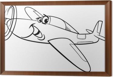 Düşük Kanat Uçak Uçak Boyama Poster Pixers Haydi Dünyanızı