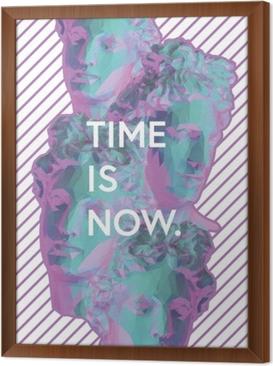 Çerçeveli Tuval Zaman artık