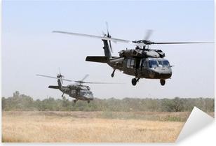 Çıkartması Pixerstick Askeri Helikopter Takımı