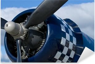 Çıkartması Pixerstick Bir F-4U Corsair warbird Motor