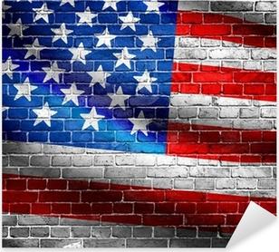Çıkartması Pixerstick Bize bayrak