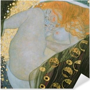 Çıkartması Pixerstick Gustav Klimt - Danae