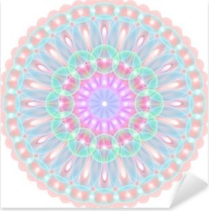 Çıkartması Pixerstick Mandala