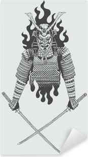 Çıkartması Pixerstick Samuray