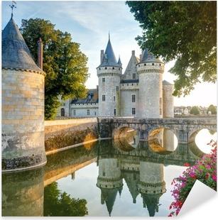 Çıkartması Pixerstick Sully-sur-Loire, Fransa şato