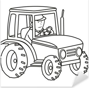 Traktör Boyama Kitabı Beş Parçalı Pixers Haydi Dünyanızı