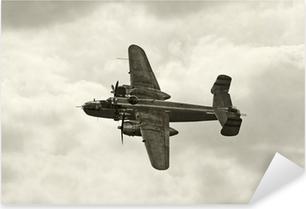 Çıkartması Pixerstick Uçuşta eski bombardıman
