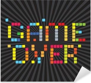 Çıkartması Pixerstick Video Oyunları Simgeler